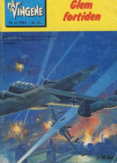 Cover for På Vingene (Serieforlaget / Se-Bladene / Stabenfeldt, 1963 series) #6/1985