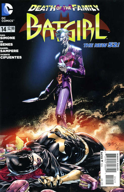 Cover for Batgirl (DC, 2011 series) #14