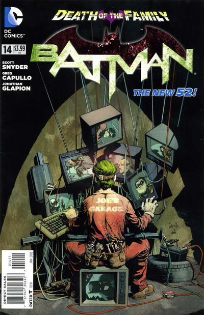 Cover for Batman (DC, 2011 series) #14