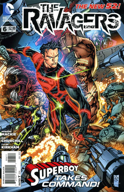 Cover for The Ravagers (DC, 2012 series) #6