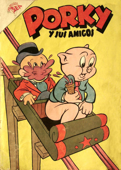 Cover for Porky y sus Amigos (Editorial Novaro, 1951 series) #77