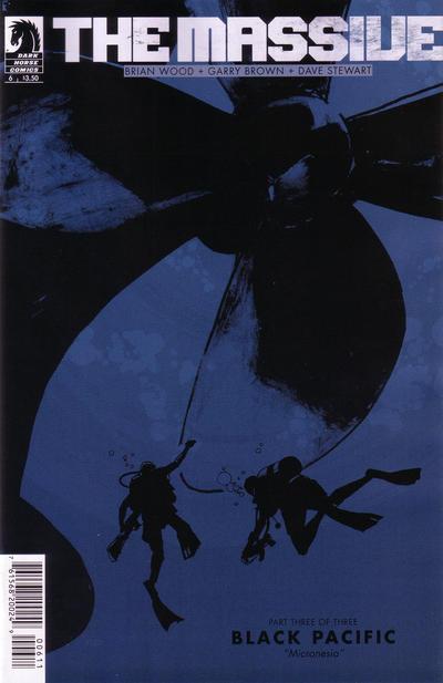 Cover for The Massive (Dark Horse, 2012 series) #6