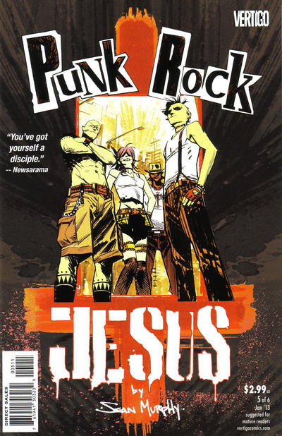 Cover for Punk Rock Jesus (DC, 2012 series) #5