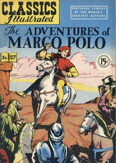 Cover for Classics Illustrated (Gilberton, 1948 series) #27
