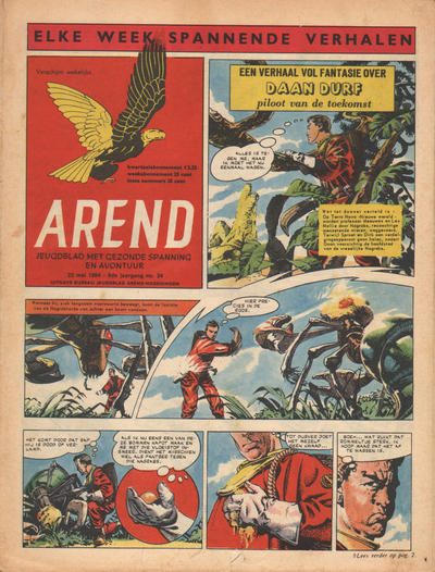 Cover for Arend (Bureau Arend, 1955 series) #Jaargang 9/34