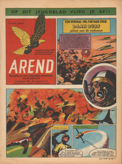 Cover for Arend (Bureau Arend, 1955 series) #Jaargang 9/50