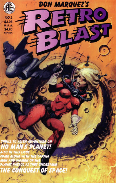 Cover for Retro Blast (Amryl Entertainment, 2002 series) #1