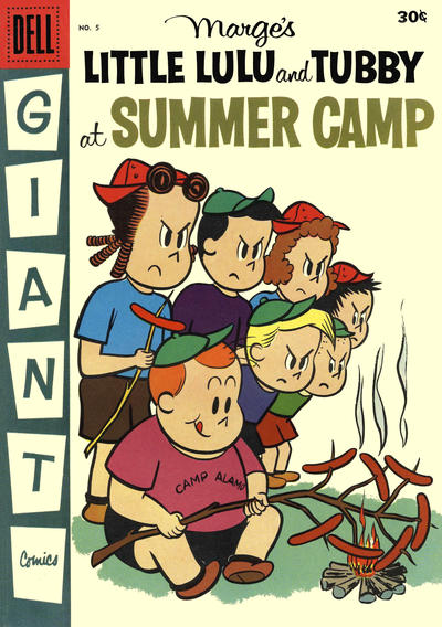 Cover for Marge's Little Lulu and Tubby at Summer Camp (Dell, 1957 series) #5 [1]