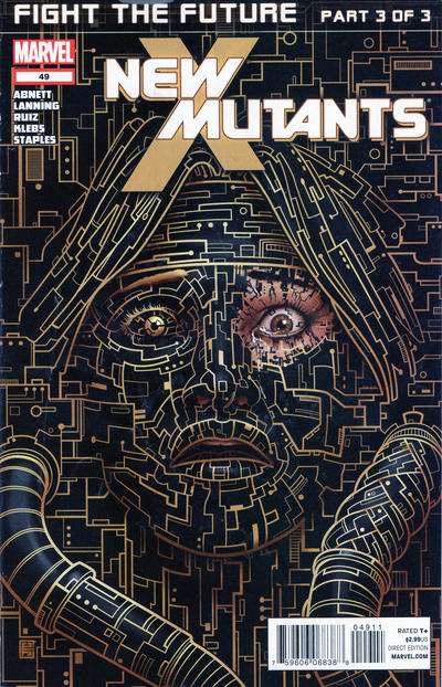 Cover for New Mutants (Marvel, 2009 series) #49