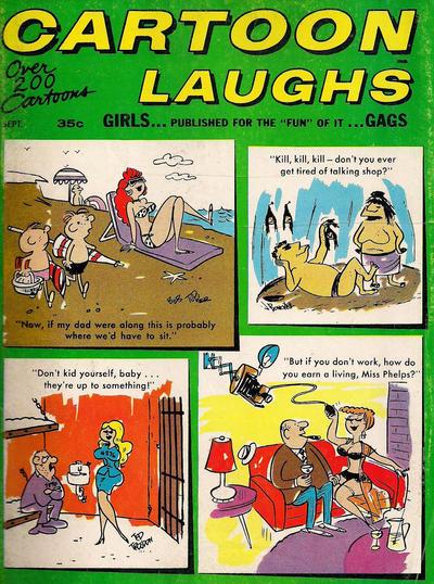 Cover for Cartoon Laughs (Marvel, 1962 series) #v6#5