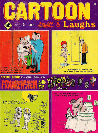 Cover for Cartoon Laughs (Marvel, 1962 series) #v8#6