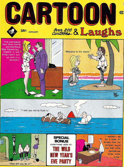 Cover for Cartoon Laughs (Marvel, 1962 series) #v9#1