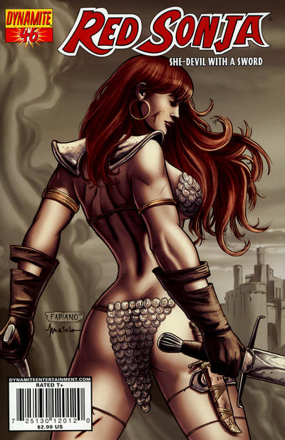 Cover for Red Sonja (Dynamite Entertainment, 2005 series) #46 [Cover A]