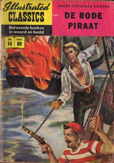 Cover for Illustrated Classics (Classics/Williams, 1956 series) #14 - De rode piraat