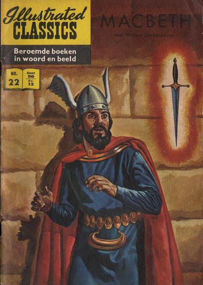 Cover for Illustrated Classics (Classics/Williams, 1956 series) #22 - Macbeth [HRN 112]