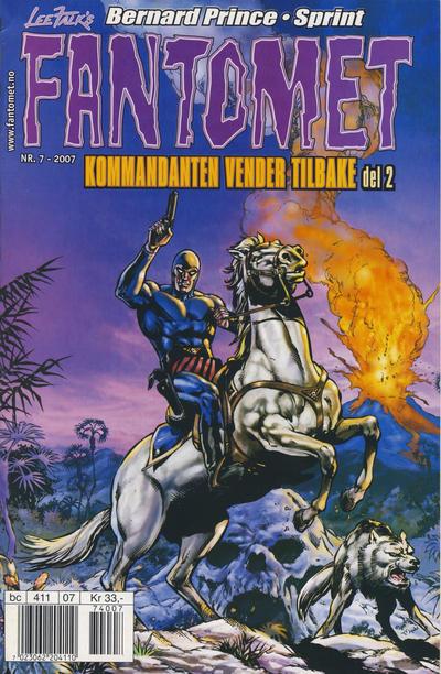 Cover for Fantomet (Hjemmet / Egmont, 1998 series) #7/2007