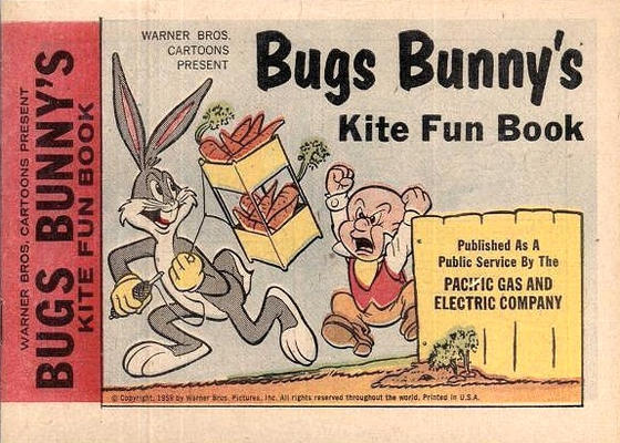 Cover for Bugs Bunny's Kite Fun Book (Western, 1959 series) #[nn]