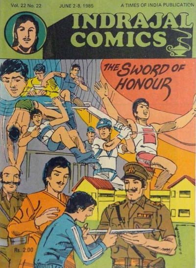Cover for Indrajal Comics (Bennet, Coleman & Co., 1964 series) #v22#22 [565]