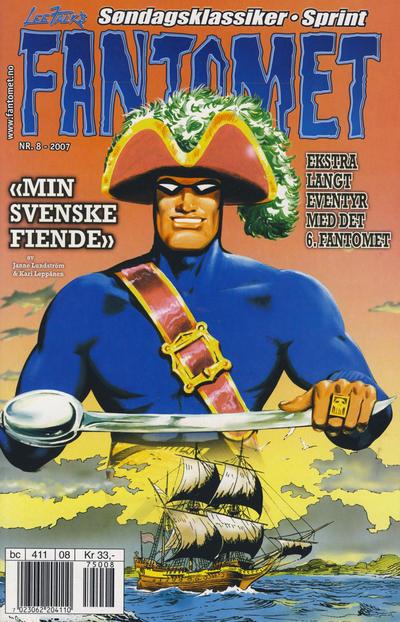 Cover for Fantomet (Hjemmet / Egmont, 1998 series) #8/2007
