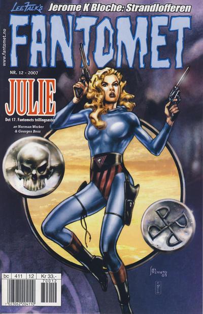 Cover for Fantomet (Hjemmet / Egmont, 1998 series) #12/2007