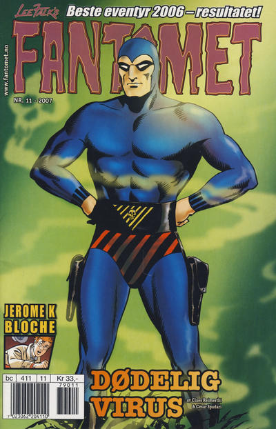 Cover for Fantomet (Hjemmet / Egmont, 1998 series) #11/2007
