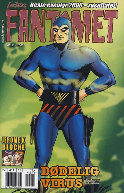 Cover for Fantomet (Hjemmet / Egmont, 1998 series) #11/2007