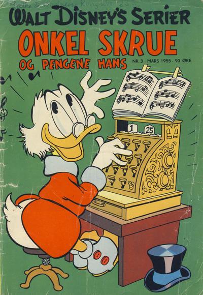 Cover for Walt Disney's serier (Hjemmet / Egmont, 1950 series) #3/1955