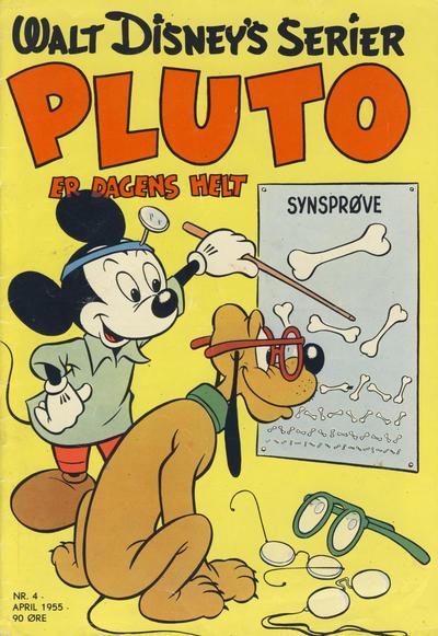 Cover for Walt Disney's serier (Hjemmet / Egmont, 1950 series) #4/1955