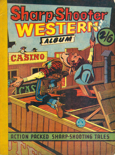 Cover for Sharp-Shooter Western Album (G. T. Limited, 1959 ? series)