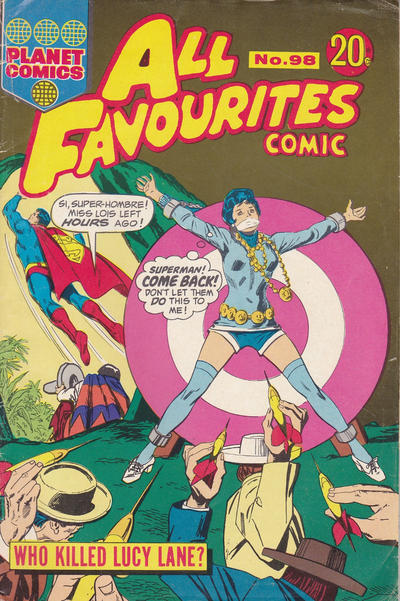Cover for All Favourites Comic (K. G. Murray, 1960 series) #98