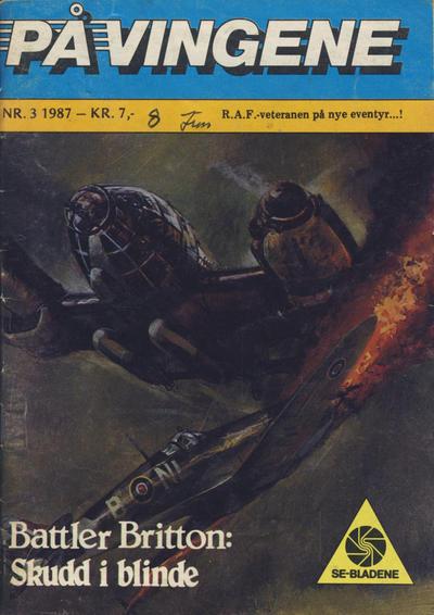 Cover for På Vingene (Serieforlaget / Se-Bladene / Stabenfeldt, 1963 series) #3/1987