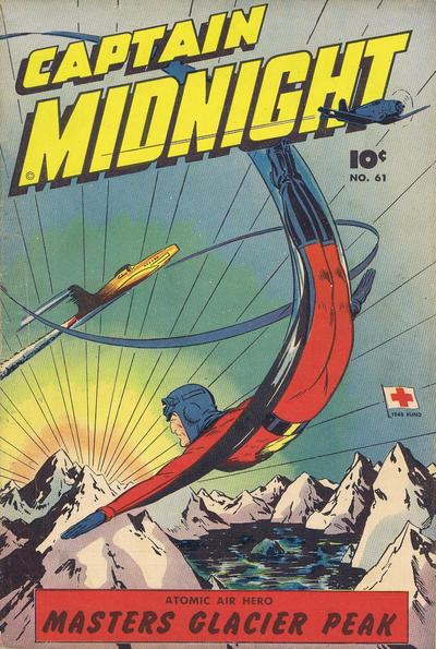 Cover for Captain Midnight (Export Publishing, 1948 series) #61