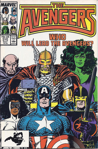 Cover for The Avengers (Marvel, 1963 series) #279 [Newsstand Edition]