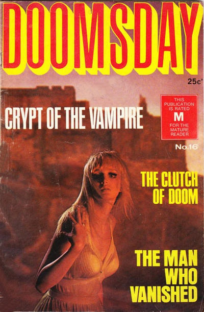Cover for Doomsday (K. G. Murray, 1972 series) #16