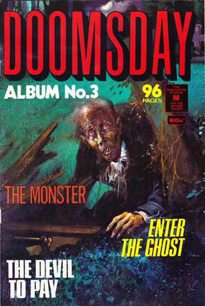 Cover for Doomsday Album (K. G. Murray, 1977 series) #3
