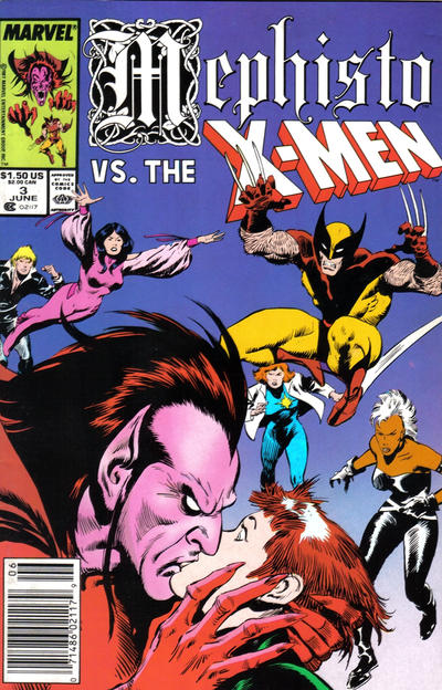 Cover for Mephisto vs. ... (Marvel, 1987 series) #3 [Direct Edition]
