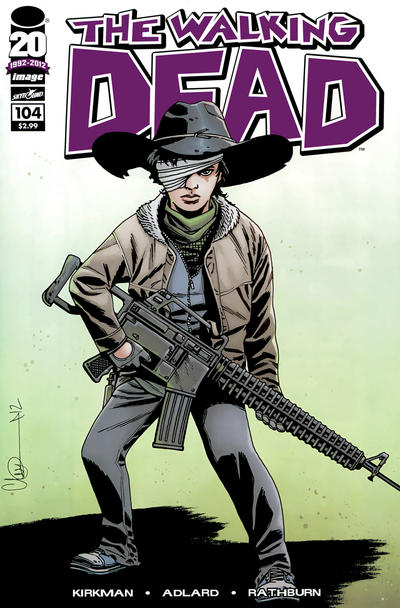 Cover for The Walking Dead (Image, 2003 series) #104