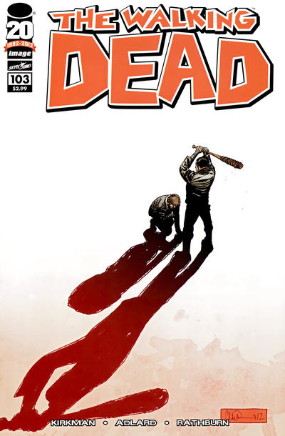 Cover for The Walking Dead (Image, 2003 series) #103 [Charlie Adlard Cover]