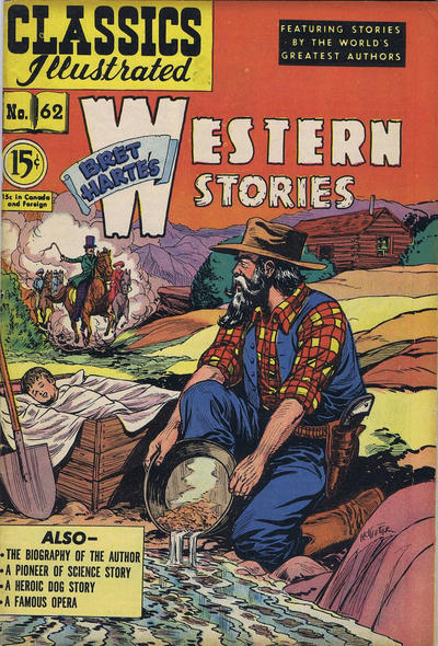 Cover for Classics Illustrated (Gilberton, 1948 series) #62