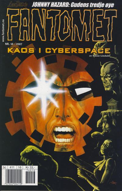 Cover for Fantomet (Hjemmet / Egmont, 1998 series) #16/2007