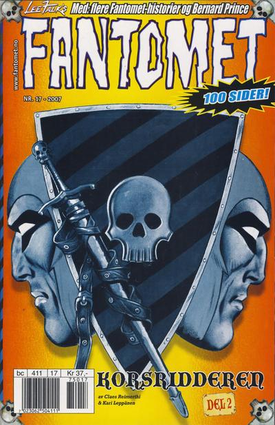 Cover for Fantomet (Hjemmet / Egmont, 1998 series) #17/2007