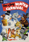 Cover for Tom & Jerry Winter Carnival (Dell, 1952 series) #2 [30¢ edition]