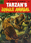 Cover Thumbnail for Edgar Rice Burroughs' Tarzan's Jungle Annual (1952 series) #4 [30¢ edition]