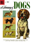 Cover for A Treasury of Dogs (Dell, 1956 series) #1 [30¢ edition]