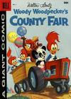 Cover for Walter Lantz Woody Woodpecker's County Fair (Dell, 1956 series) #2 [30¢ edition]