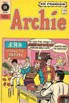 Cover for Archie (Editions Héritage, 1971 series) #81
