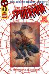 Cover for The Sensational Spider-Man (Marvel, 1996 series) #0 [Red Webbing Wraparound - Dan Jurgens]