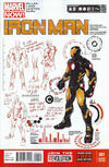 "Cover Thumbnail for Iron Man (2013 series) #1 [""Design"" Variant Cover by Carlo Pagulayan]"