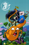 Cover for Adventure Time (Boom! Studios, 2012 series) #1 [Emerald City Comicon Exclusive Variant by Chris Samnee]