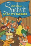 Cover for Walt Disney's Snehvit og de syv dverger (Hjemmet / Egmont, 1963 series)
